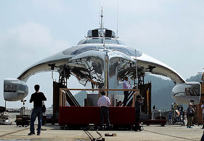 Blast From The Past | Yacht Shaped Like A UFO Controlled By iPad