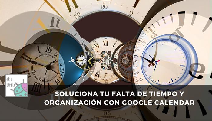 organización google calendar