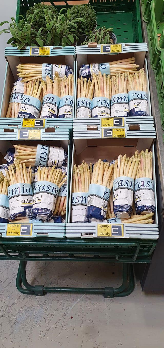 Το σπαράγγι της Ξάνθης στα σούπερ μάρκετ της Γερμανίας