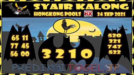 Syair Kalong HK Malam ini 21 September 2021