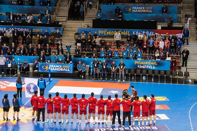 Chile en Mundial Handball Francia