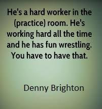 Wrestling Practice Quotes