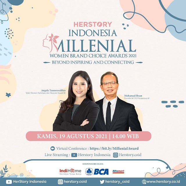 Beyond and Connecting: HerStory Indonesia Gelar Millenial Women Brand Choice Awards 2021