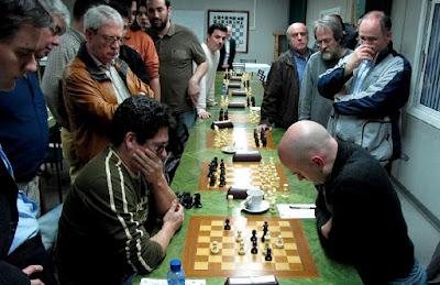 Partida de ajedrez Marcelo Panelo - Marc Narciso, 2010