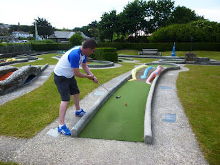 Bude Haven Crazy Golf course in Bude, Cornwall