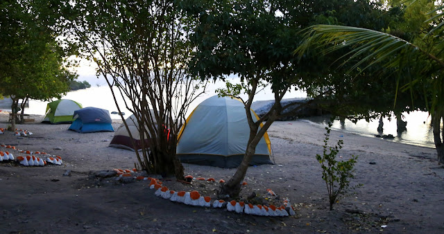 Camping at Pacman Beach Resort Complex
