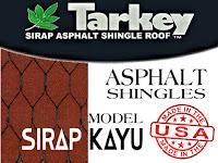 TARKEY Sirap Bitumen- Tipe Sirap Kayu