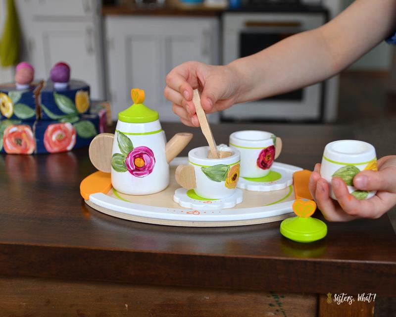 diy play tea set