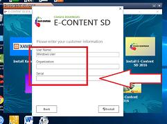 instal e-content sd 2016 sdn cirarab II