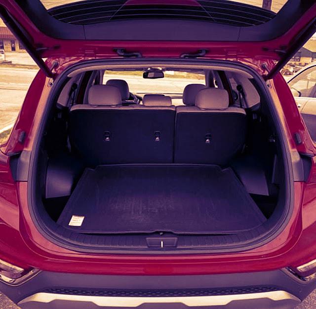 Hyundai Santa Fe 2020 cargo space