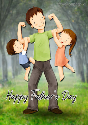 funny happy fathers day wishes image