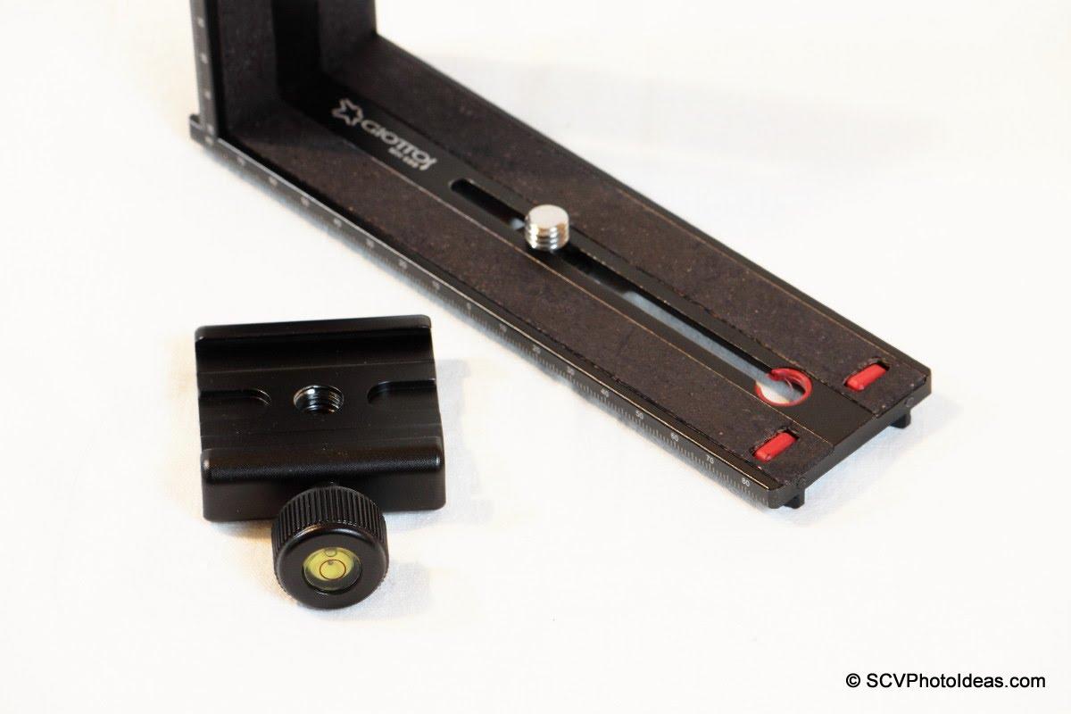Giottos MH-680 VR Sliding Plate w/ QAL-500 QR Clamp