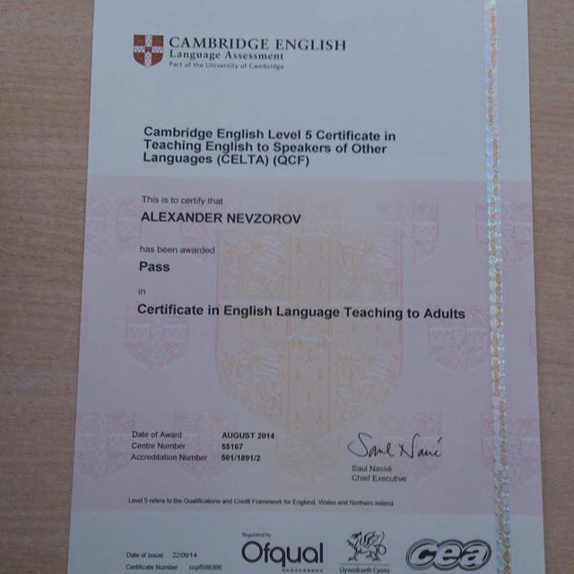 تعرف على شهادة celta التي تجعل منك معلماً للغة الإنجليزية وكيف تحصل عليها