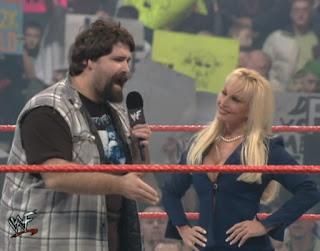 WWE / WWF Rebellion 2000 - Mick Foley and Debra set up announced tonight's main event