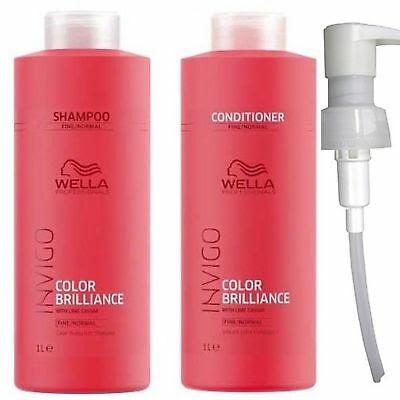 FREE Wella Invigo Brilliance Shampoo, Brilliance Conditioner and Brilliance Mask