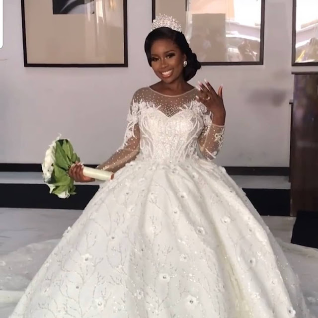 See the Lovely Pictures of Comedian Arole White Wedding (Photos)
