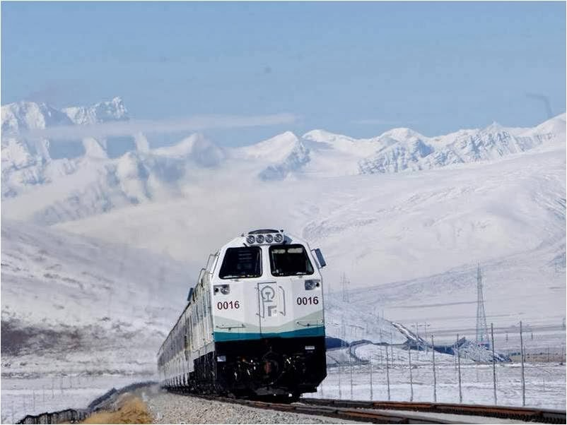 A train journey from Shanghai to Lhasa