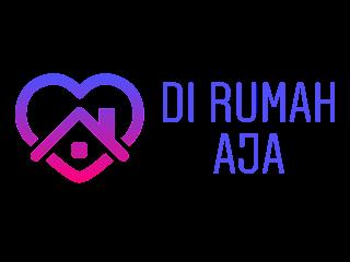 Di Rumah Aja Free Vector Logo CDR, Ai, EPS, PNG
