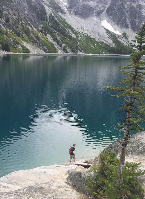 Ryan at Colchuck Lake