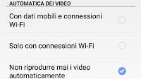 Disattivare avvio video automatico e l'audio in Facebook