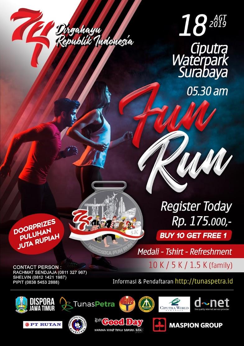 Tunas Petra - Fun Run • 2019