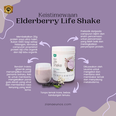 keistimewaan life shake elderberry
