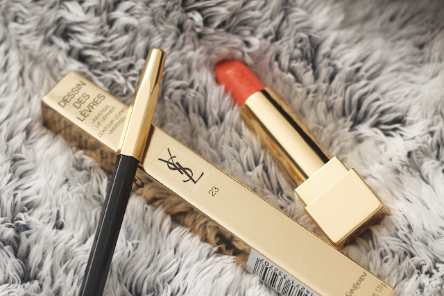 ysl rouge couture lipstick review