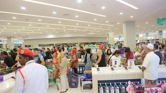 Pembukaan Rasmi LuLu Hypermarket 1 Shamelin Mall Cheras