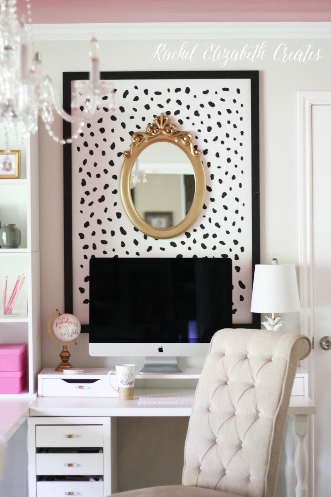 Bliss Magazine Office Design Install | Rachel Elizabeth Creates