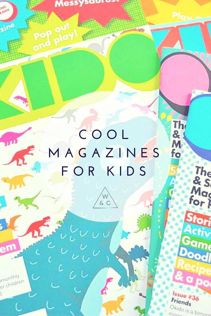 great kids magazines, kids subscription, educational magazine, kids science magazine, okido magazine