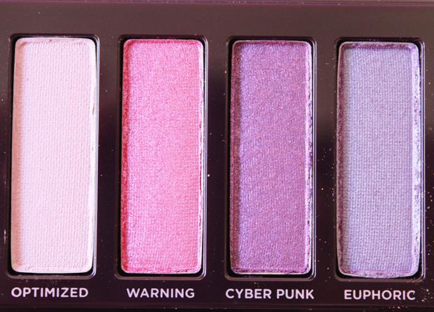 Los tonos morados y violetas de la paleta