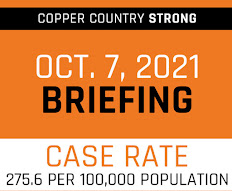 Copper Country Strong: COVID cases up in Houghton, Gogebic counties