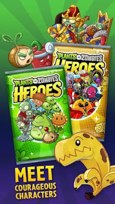 Plants vs Zombies Heroes For Android