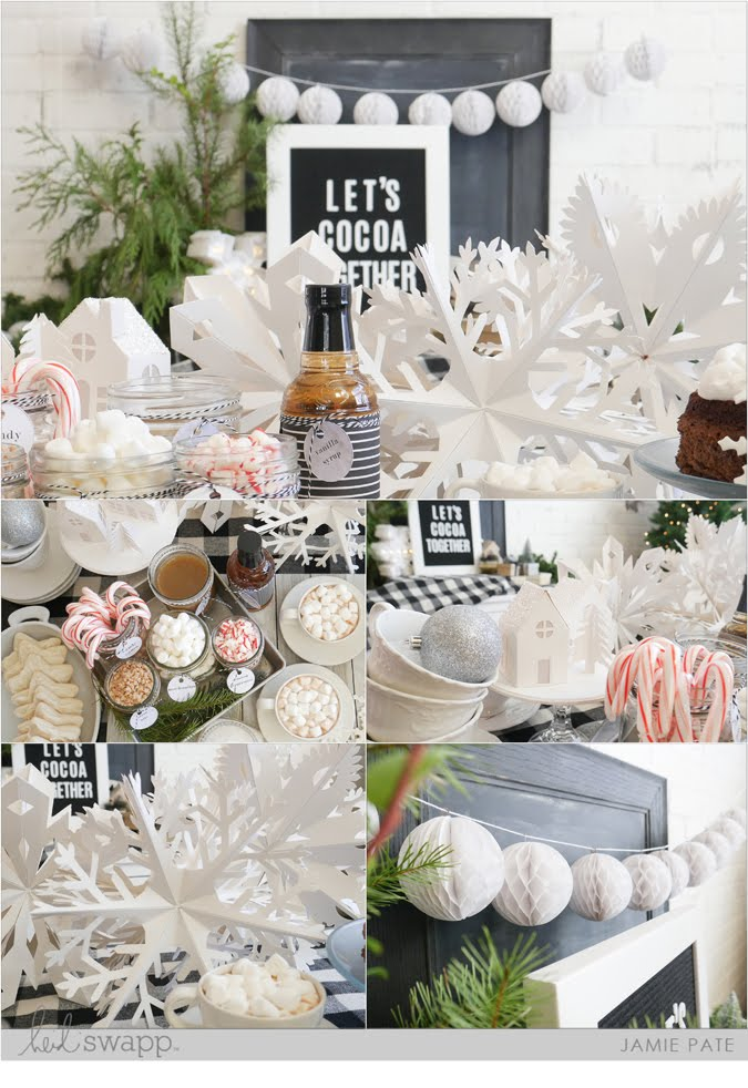 6 Ways to Cocoa Party with Heidi Swapp by Jamie Pate | @jamiepate for @heidiswapp