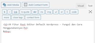 7 Text Pos Editor Wordpress