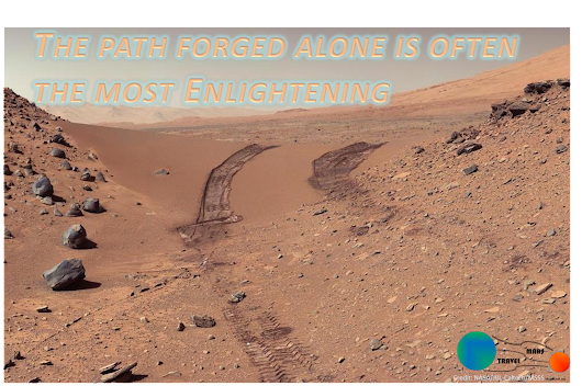 Mars Travel: The Path Forged Alone