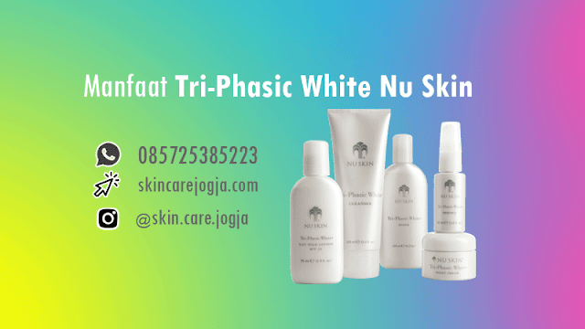 Manfaat Tri-Phasic White Nu Skin