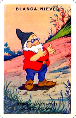 Juego Familias Walt Disney Carta Blancanieves 3