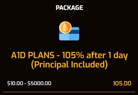Инвестиционные планы EarnA1d