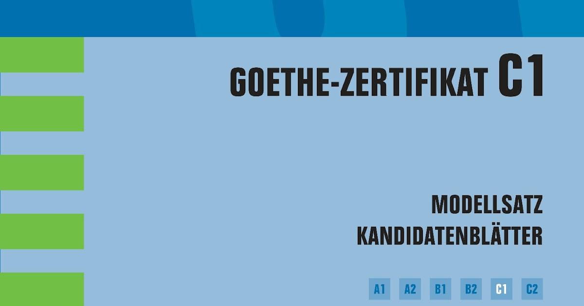 Zertifikat Deutsch C1 Pdf Darkovy Poukaz Masaz Praha