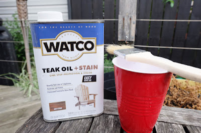 teak oil sealer cedar outside stain