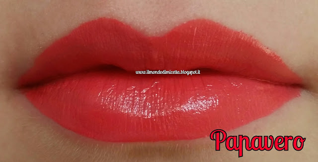 Swatch, labbra, rossetti, alkemilla, papavero
