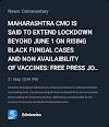 Maharashtra lockdown update - YP Buzz