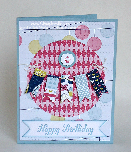 Stampingville: A Banner Birthday + World Card Making Day