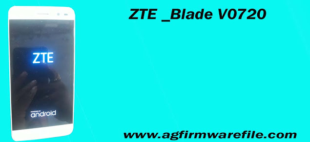 ZTE Blade V0720 firmware flash file stock Rom download Free.