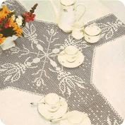 """Mantel """"Iris"""" a Crochet"""
