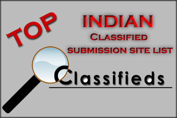 High DA Indian Classified Submission Websites List
