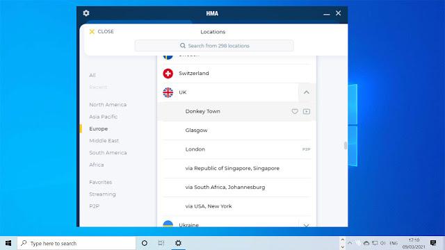 HideMyAss (HMA) VPN Review