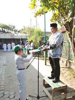 Upacara Peringatan Hari Kemerdekaan Indonesia ke 73 Tahun 2018 di MI Al Raudlah
