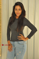 Actress Bhanu Tripathri Pos in Ripped Jeans at Iddari Madhya 18 Movie Pressmeet  0010.JPG